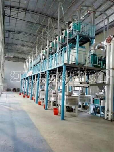 高房式石磨面粉機械