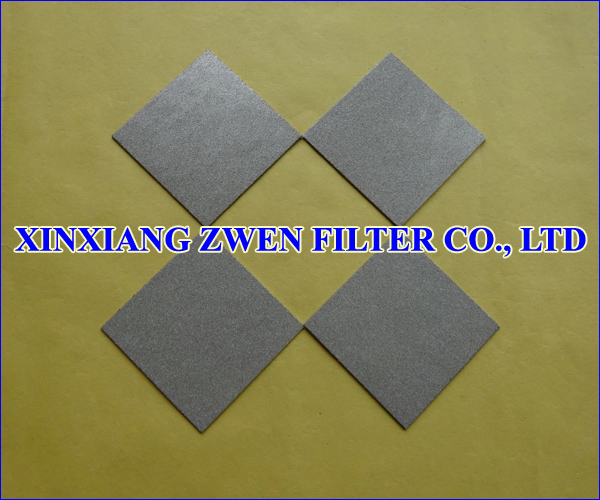 316L Sintered Porous Filter Plate