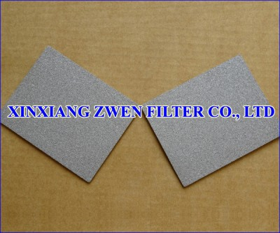 SS Sintered Porous Filter Plate