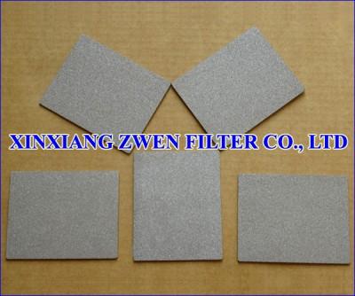 Stainless Steel Sintered Powder Filter Sheet