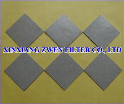 316L Sintered Porous Filter Sheet