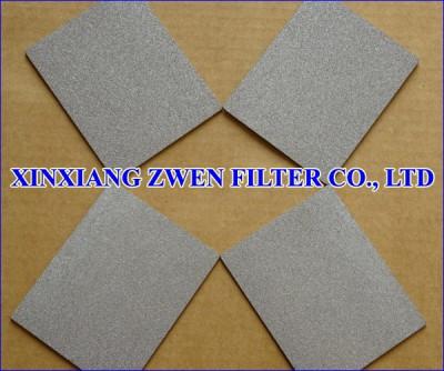 SS Sintered Powder Filter Plate