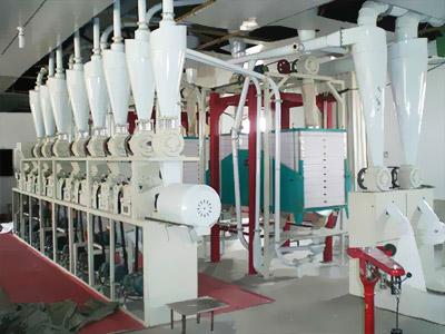 220吨级面粉加工设备