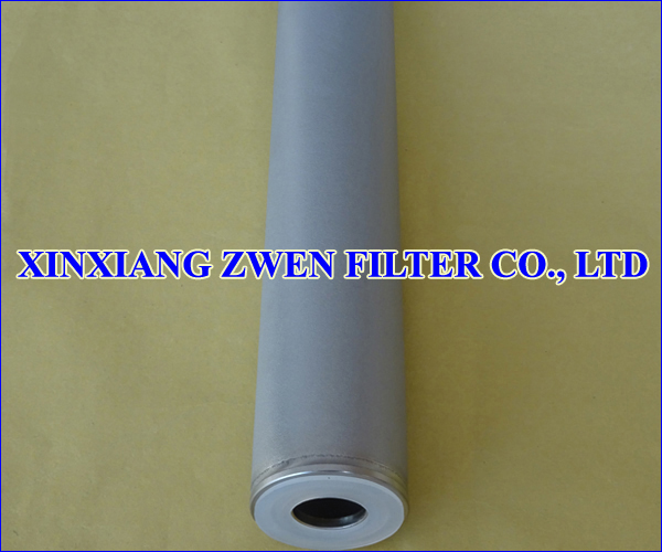 316L Sintered Powder Filter Cartridge
