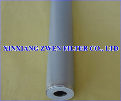 316L Sintered Powder Filter Cartridge