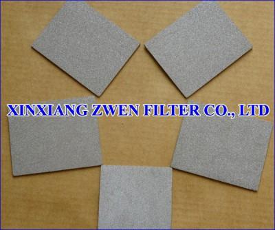 SS Sintered Powder Filter Sheet