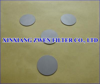 Washable Sintered Filter Disc