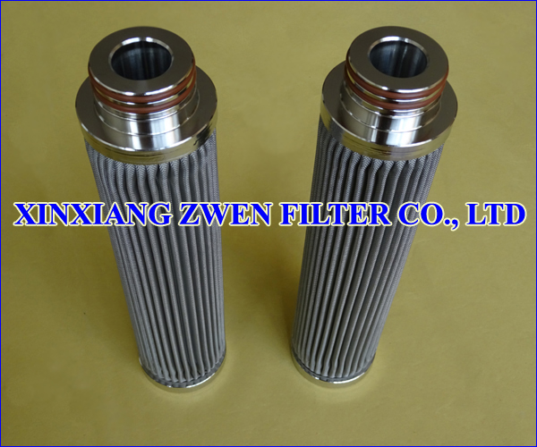 Washable ​Pleated Metal Filter Cartridge
