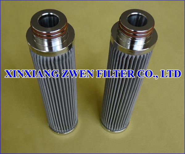 Washable Pleated Metal Filter Cartridge