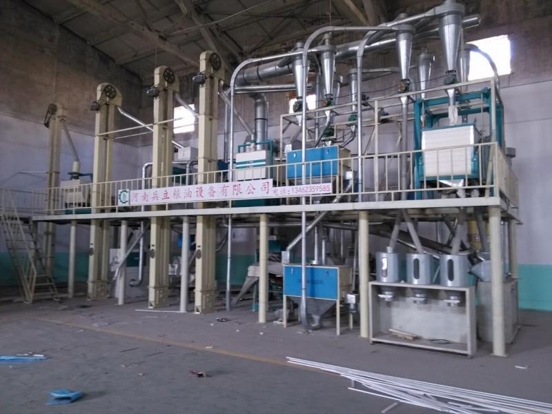 玉米磨面設備