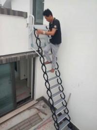 鈦鎂合金壁掛樓梯