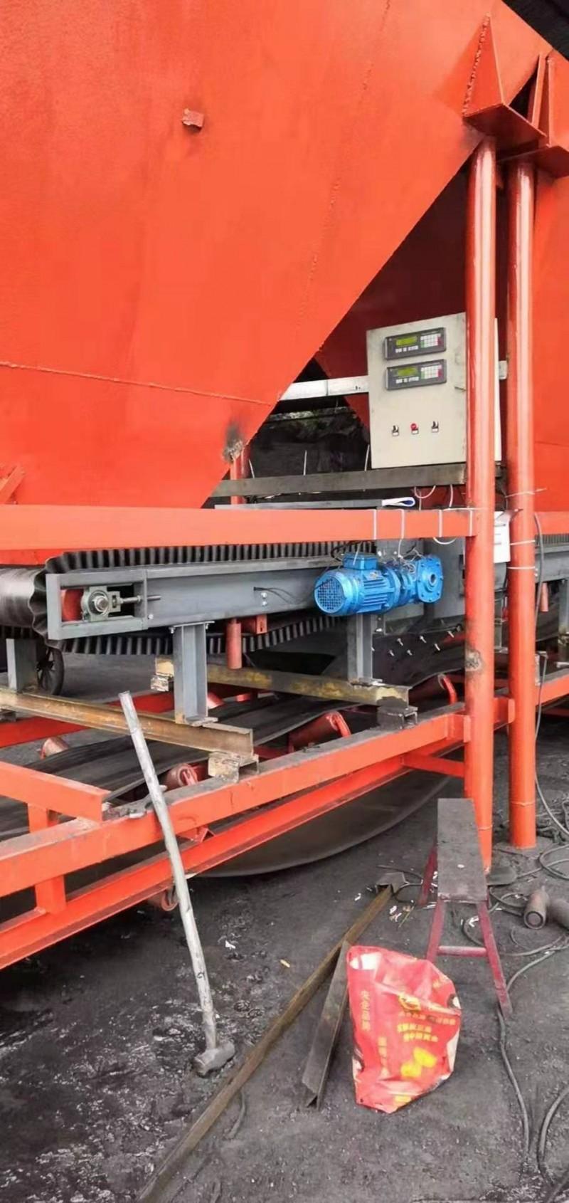 移动式配煤机使用现场