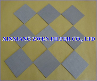 SS Sintered Metal Filter Plate