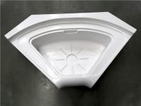 扇形淋浴房底盆
