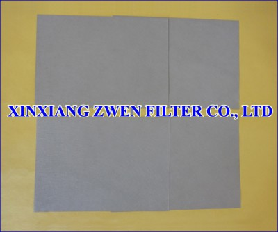 Sintered Fiber Felt Filter Media