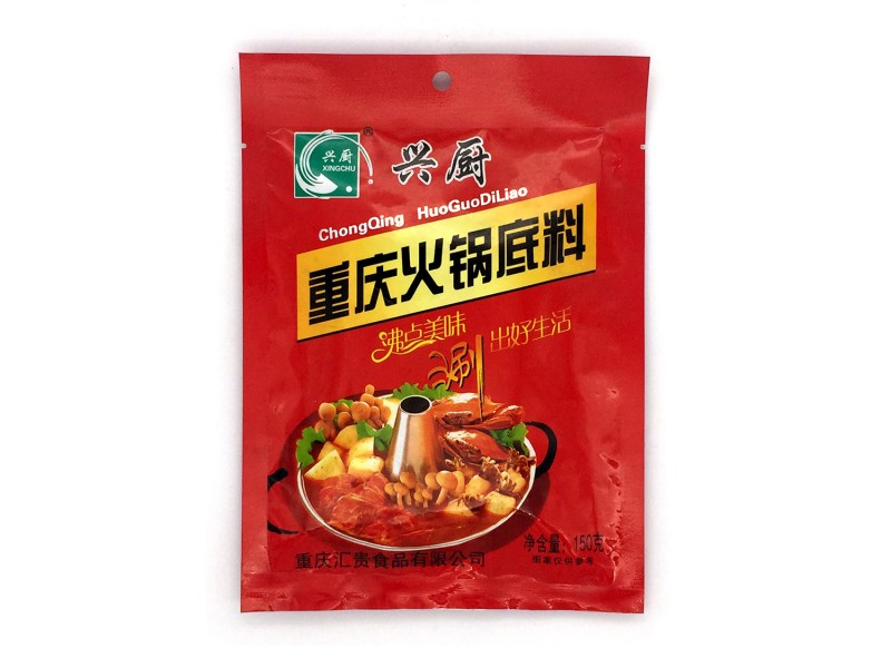 兴厨重庆火锅底料150克