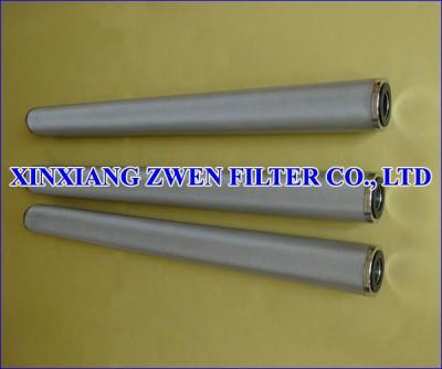 Multilayer Sintered Metal Filter Cartridge