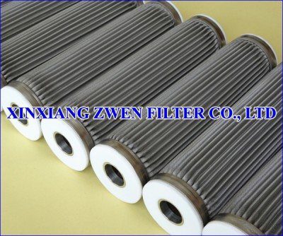 Washable Pleated Stainless Steel Filter Element