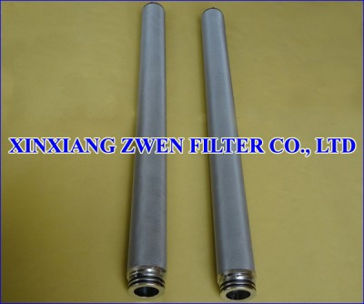 SS Sintered Metal Filter Element