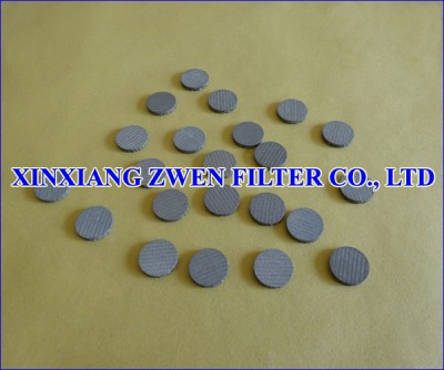 SS Sintered Mesh Filter Disc