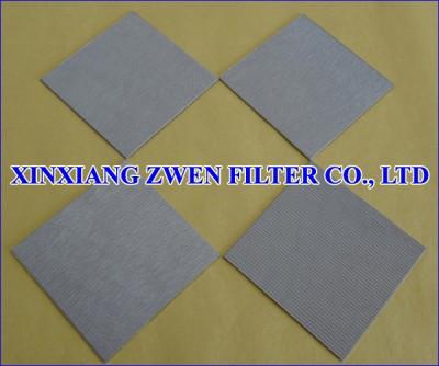 Multilayer Sintered Metal Filter Sheet