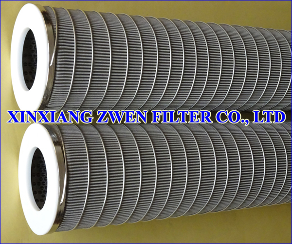 Washable Pleated SS Filter Element
