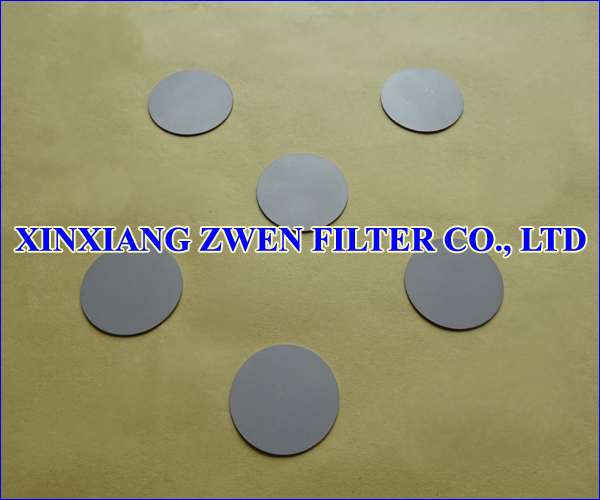 Stainless Steel Sintered Powder Filter Disc