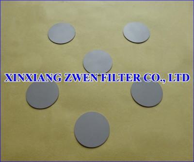 Stainless Steel Sintered Powder Filter Disc