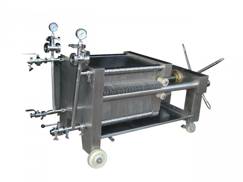 21片--41片板框精濾機(手動式)400x400型