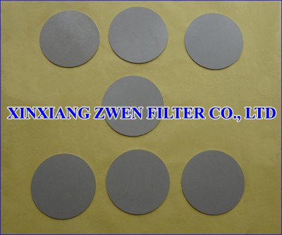 Stainless Steel Sintered Filter Disk