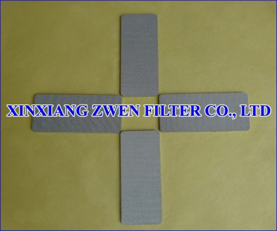 Stainless Steel Sintered Metal Filter Plate