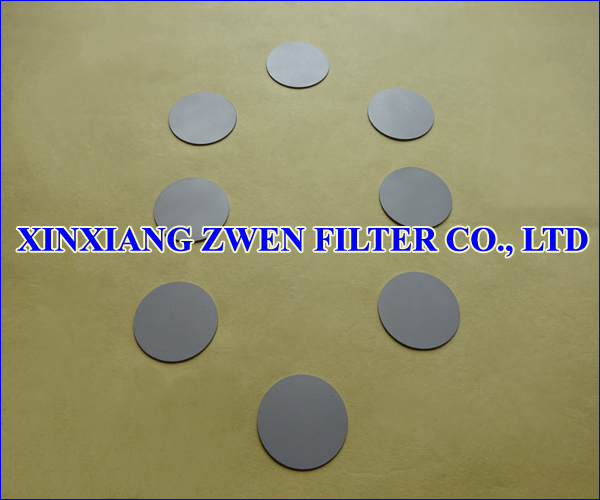 304 Sintered Filter Disc