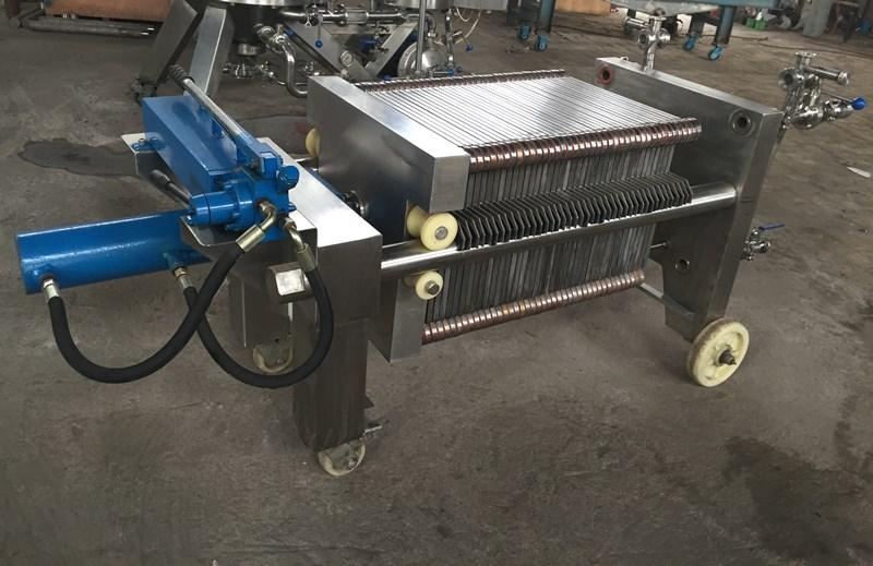 液壓自動板框精濾機,400x400型21片-101片