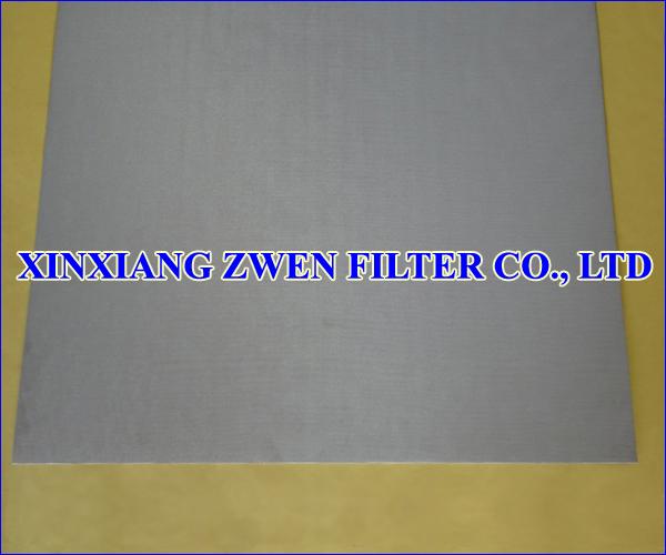 Stainless Steel Sintered Mesh Filter Sheet