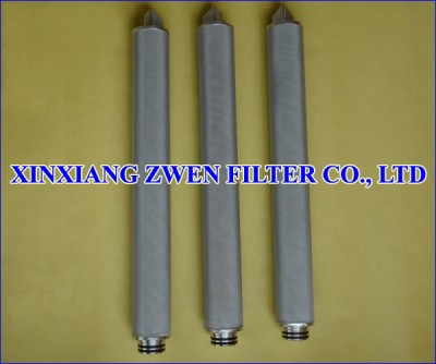 Stainless Steel Sintered Metal Filter Cartridge