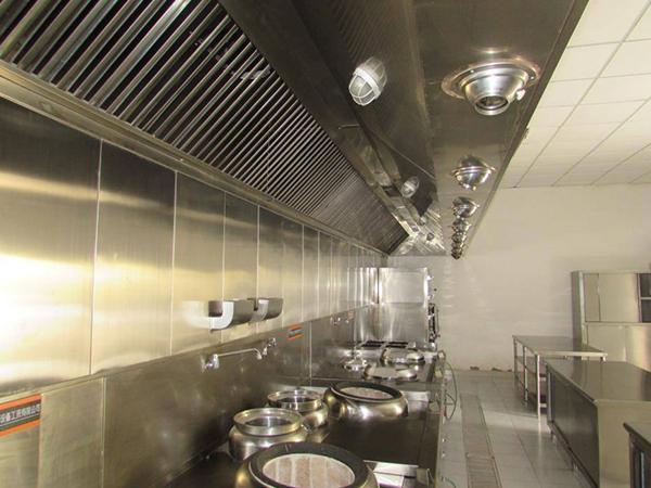 厨房通风排烟设计安装