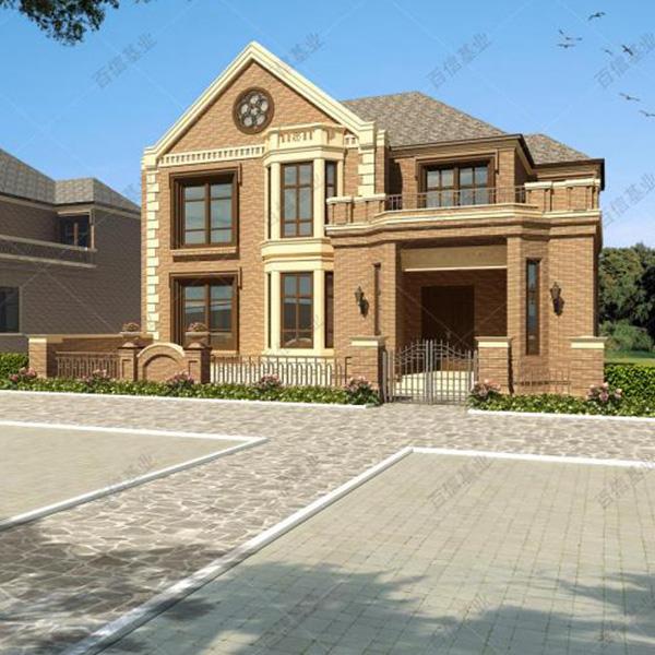 歐式典雅二層輕鋼別墅