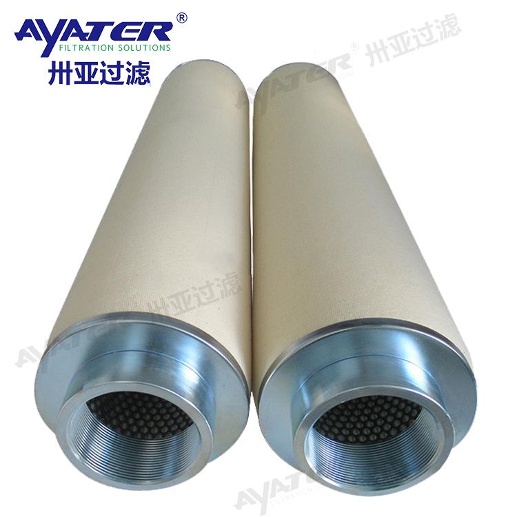 聚结式滤油机滤芯PLF40H/PSE50H1滤油机分离滤芯