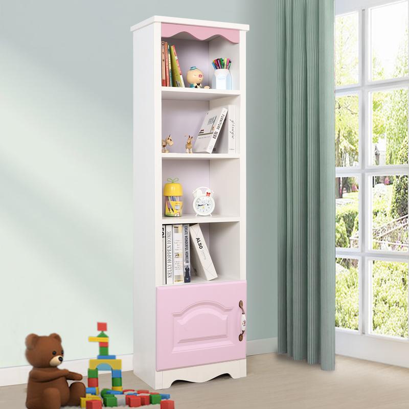 40高书柜有门-粉色