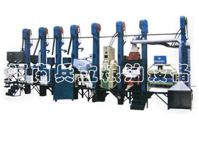 50吨小米成套机械设备