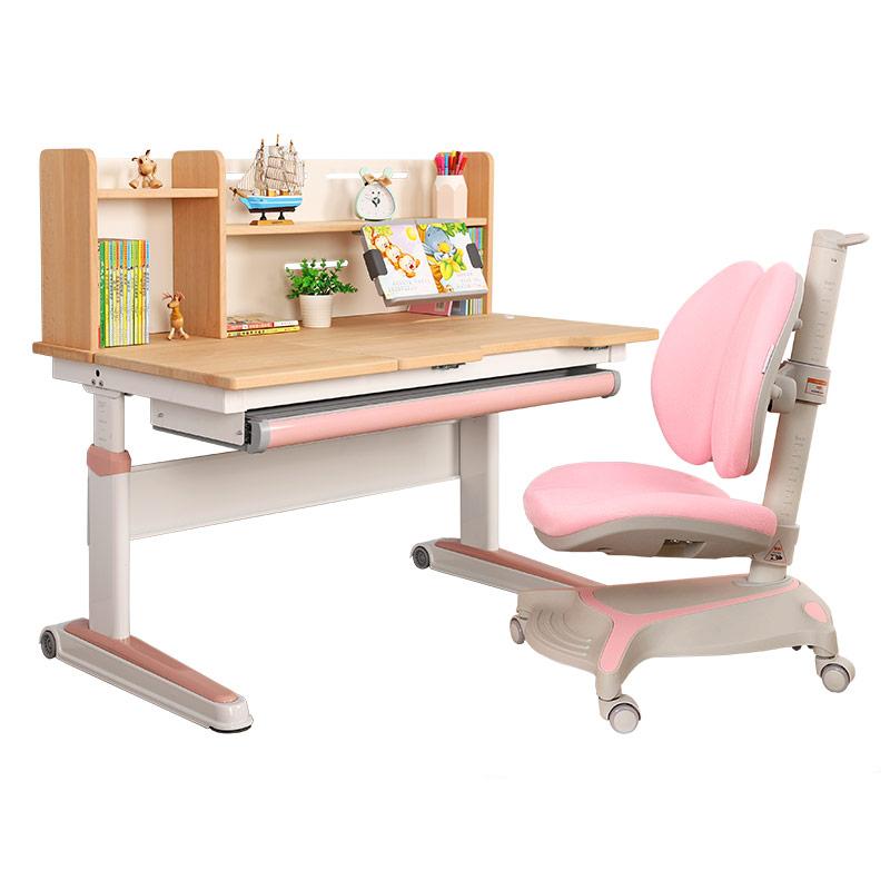 TY120J榉木桌+蜗牛椅