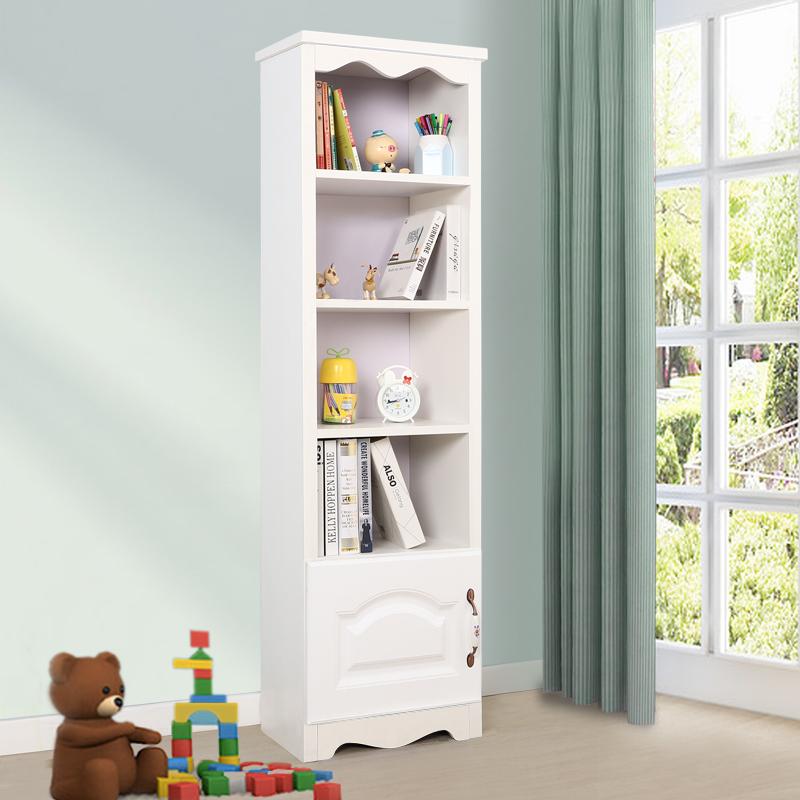 40高书柜有门-白色