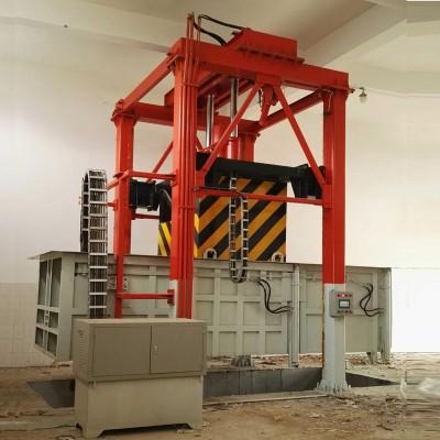 垂直式垃圾中转站压缩设备
