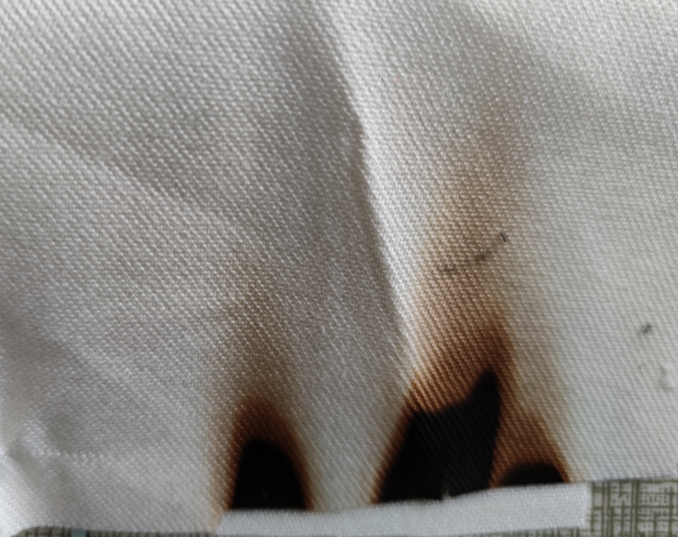 阻燃白布  白色阻燃涂层基布