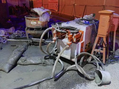 山西双缸双液注浆泵使用现场