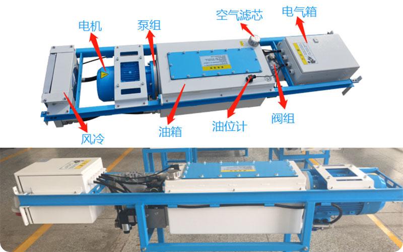 移动式垃圾压缩设备压缩系统和电气系统