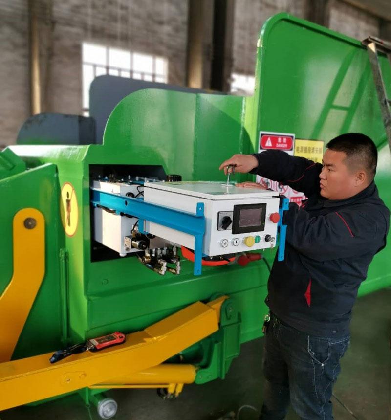 移动式垃圾压缩设备液压系统