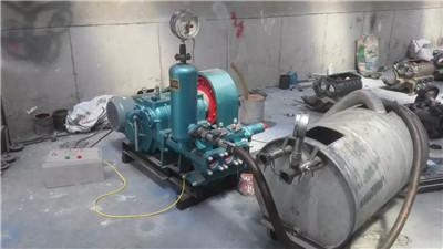 安徽客户bw250注浆泵使用现场