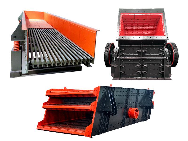时产250-320吨石料生产线