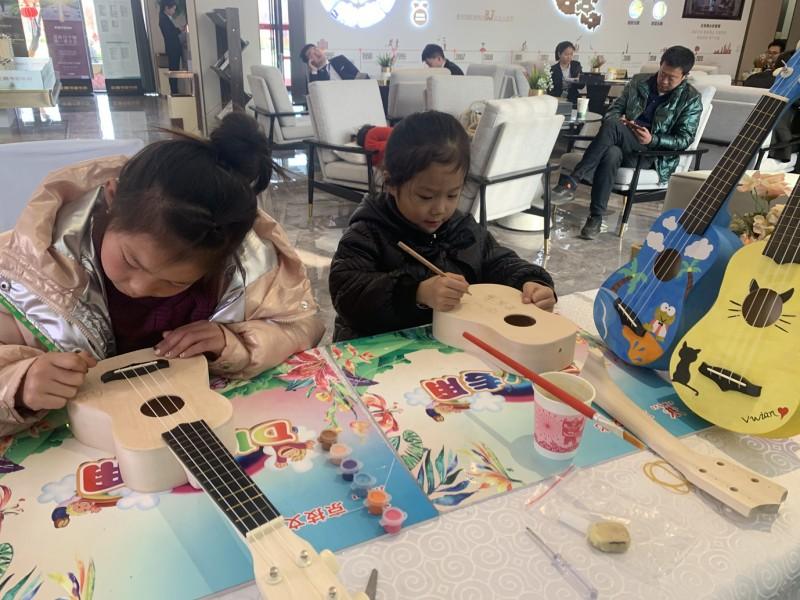 辉县尤克里里DIY活动